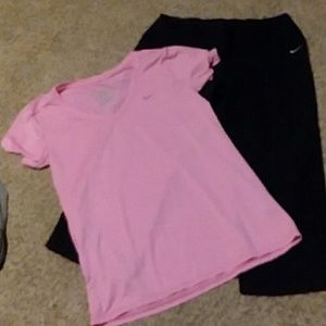 Medium Nike Athletic outfit.